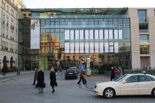 Haacke Akademie der Künste Fassade