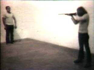 Chris Burden: Shoot, 1971